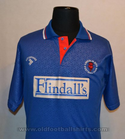 Lincoln City Type de maillot inconnu 1991 - 1992