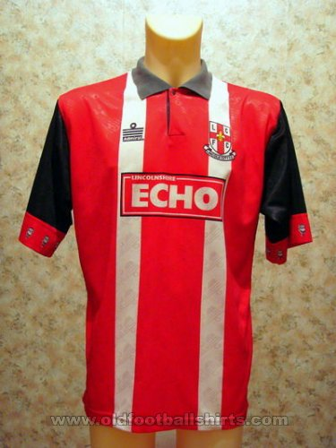 Lincoln City Thuis  voetbalshirt  1994 - 1995