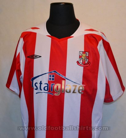 Lincoln City Home football shirt 2008 - 2010