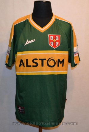 Lincoln City Away baju bolasepak 2000 - 2001