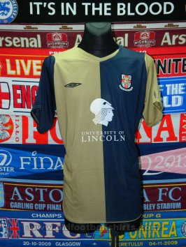 Lincoln City Unknown shirt type 2009 - 2010