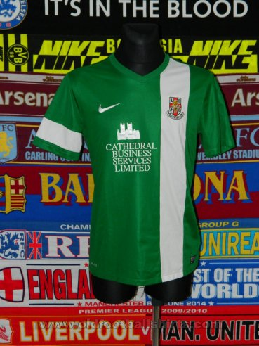 Lincoln City Away baju bolasepak 2013 - 2014