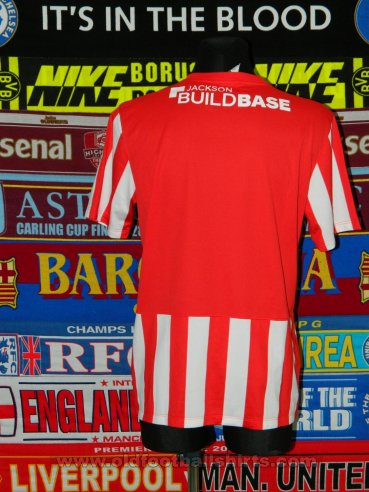 Lincoln City Home football shirt 2014 - 2015