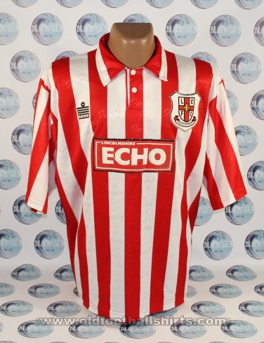 Lincoln City Home Fußball-Trikots 1993 - 1994