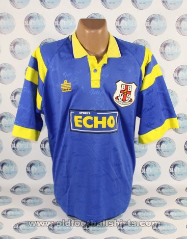Lincoln City Away baju bolasepak 1996 - 1997