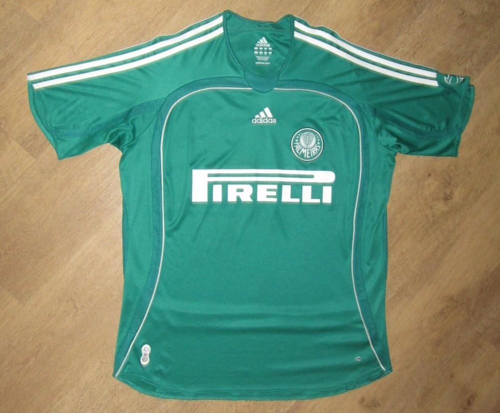 a6cc7f7848590 Palmeiras Home camisa de futebol 2006 - 2007.