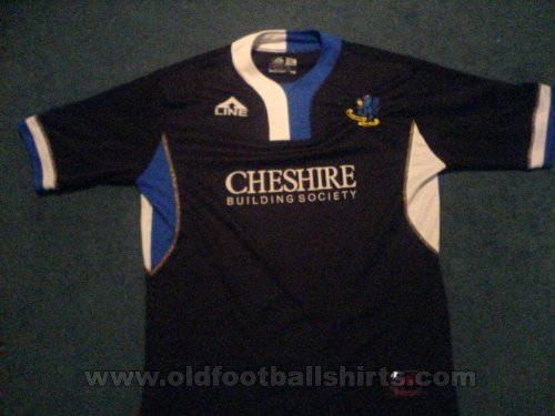 Macclesfield Town Away Maillot de foot 2006 - 2007
