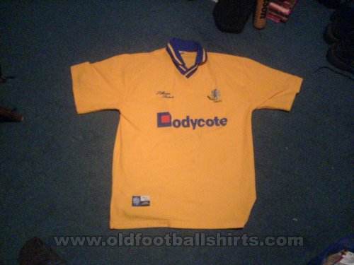Macclesfield Town Away Maillot de foot 1999 - 2000
