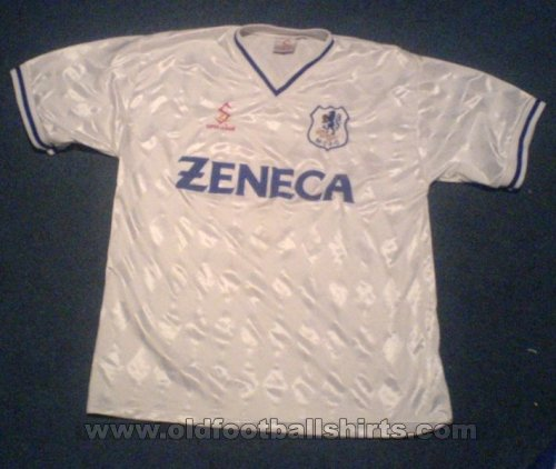 Macclesfield Town Away Maillot de foot 1997 - 1998