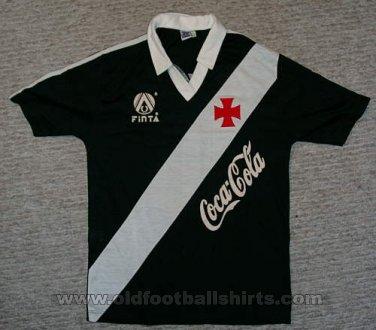 Vasco da Gama Away camisa de futebol 1989 - 1990. 02ecd6eb844c4