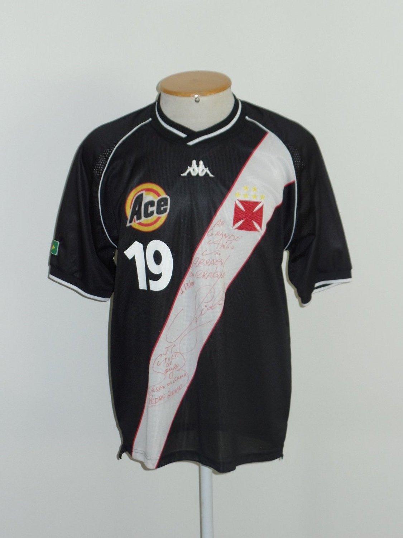 Vasco da Gama Away football shirt 2000. Sponsored by Ace