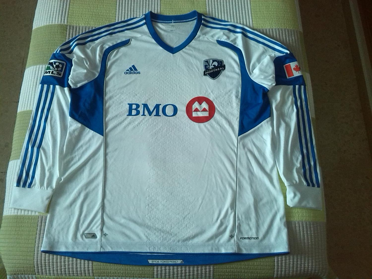 low priced cc6f2 58624 Montreal Impact Away Maillot de foot 2012 - 2014.