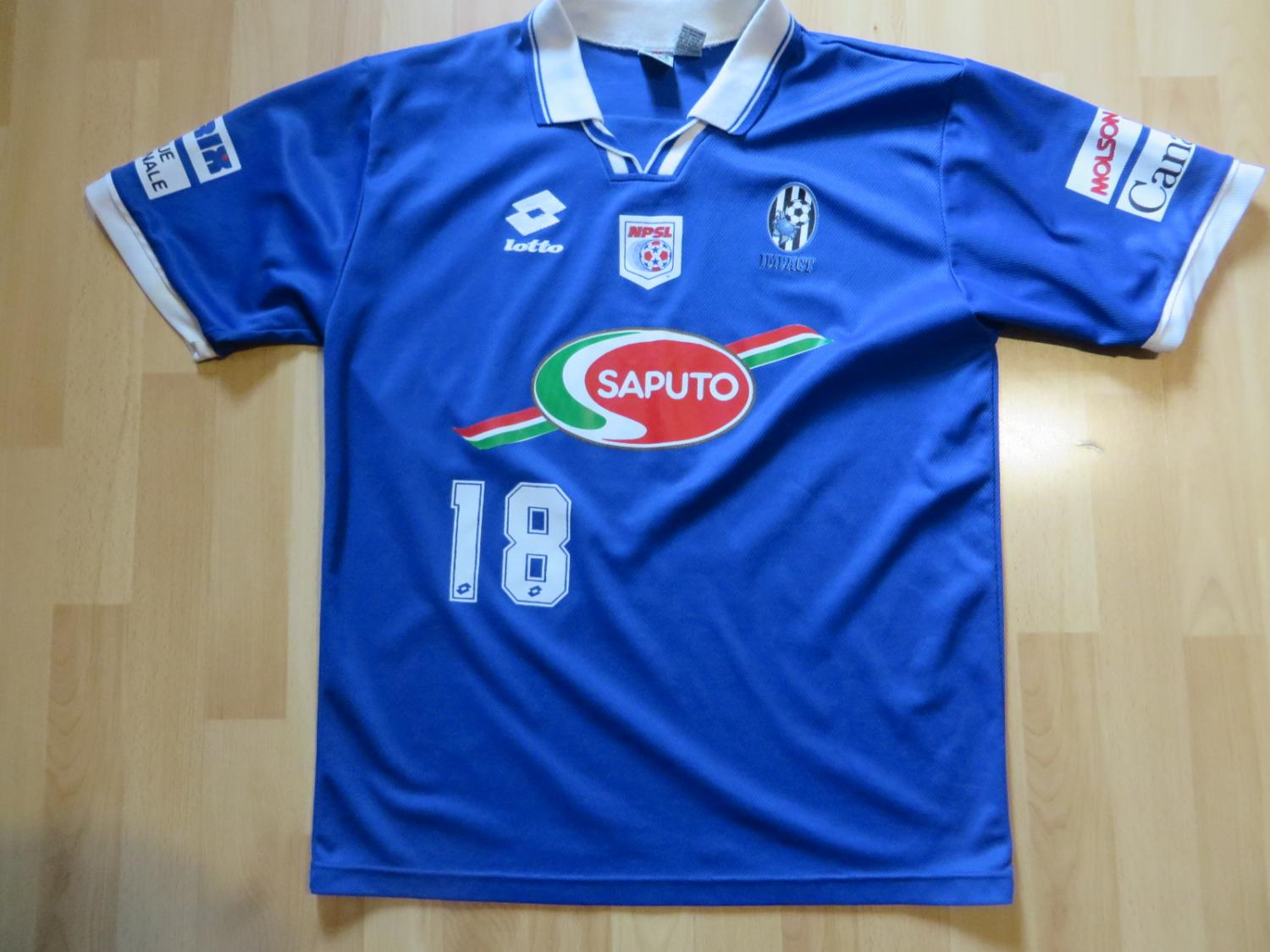 the best attitude c2101 1140b Montreal Impact Home football shirt (unknown year).