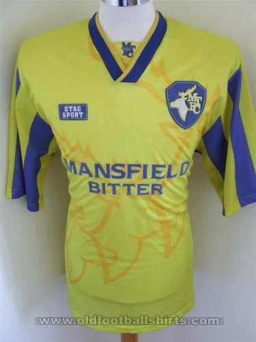 Mansfield Town Local Camiseta de Fútbol 1995 - 1996