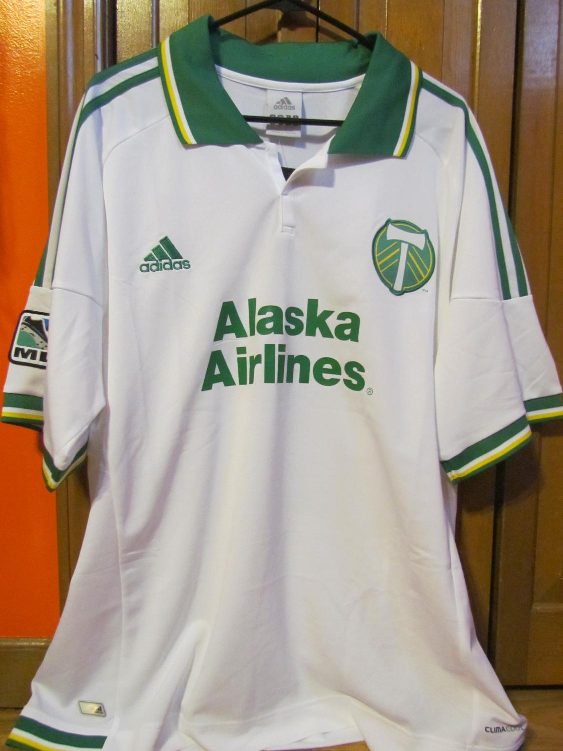 the best attitude f1128 123ed Portland Timbers Third football shirt 2012 - 2013.