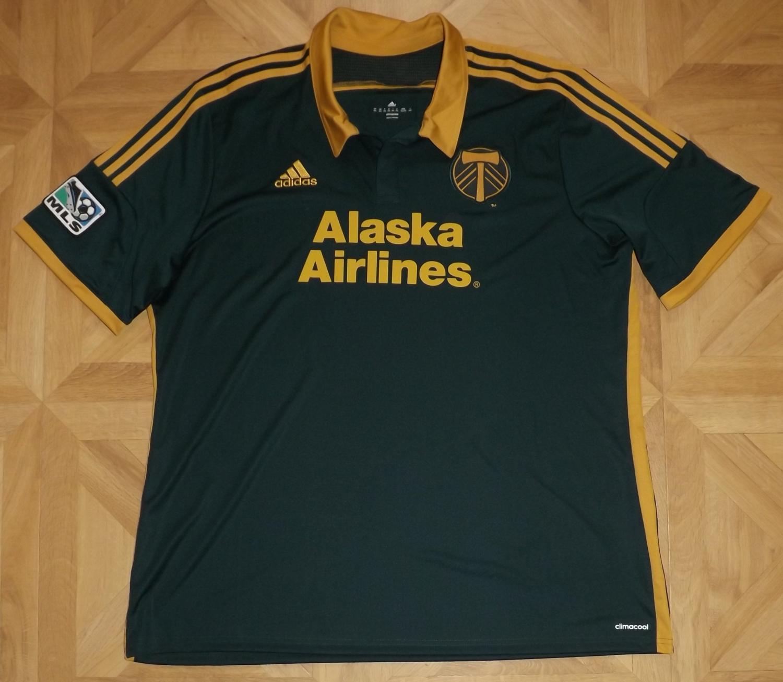 new style 8140c 1a240 Portland Timbers Third camisa de futebol 2014 - 2016.