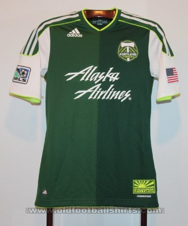Portland Timbers Home football shirt 2012