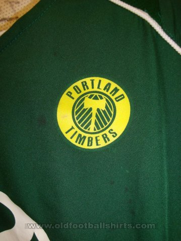 Portland Timbers Home Maillot de foot 2004 - 2005
