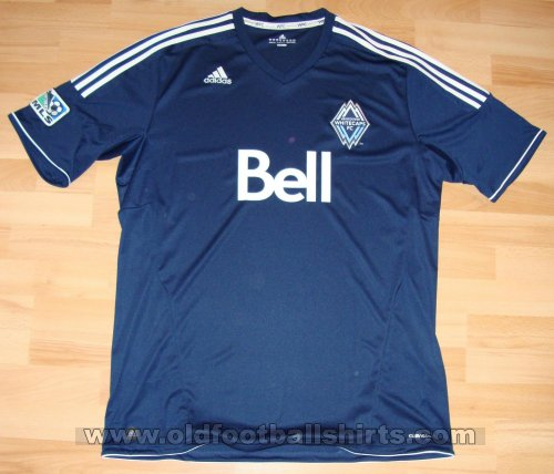 Vancouver Whitecaps Away football shirt 2011 - 2013