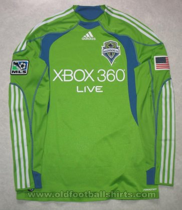Seattle Sounders Home football shirt 2009 - 2010