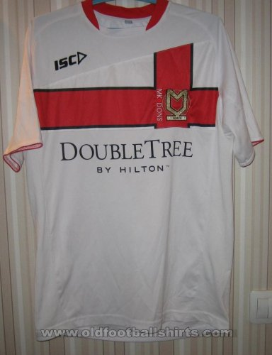 Milton Keynes Dons Home football shirt 2011 - 2012