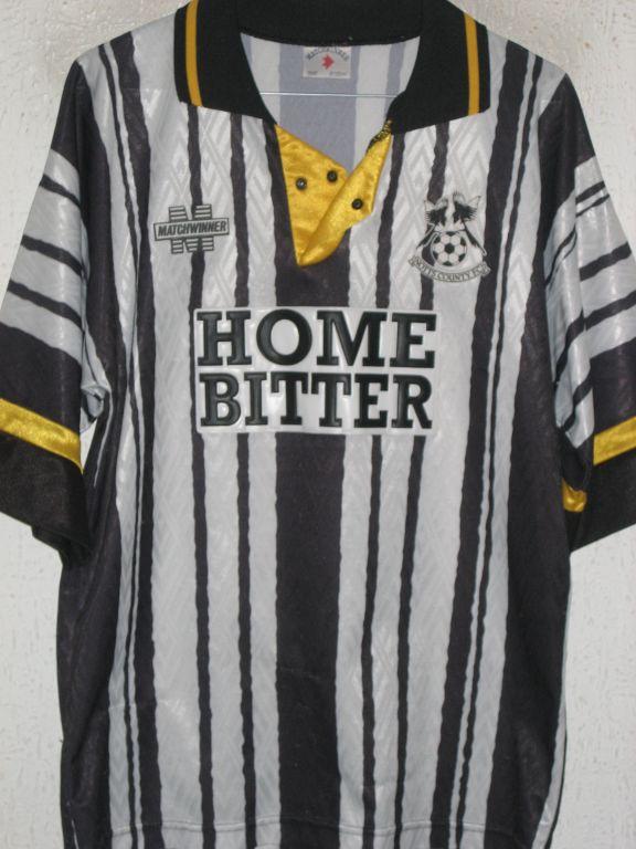 Notts County Home maglia di calcio 1993 - 1994. Sponsored by Home Beer e2869927a