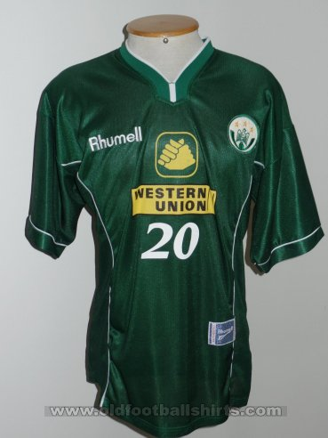 Raja Club Athletic Home חולצת כדורגל 2000