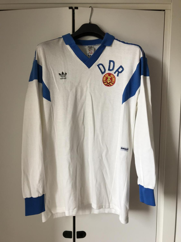 754af2402 East Germany Away maglia di calcio 1986 - 1987.