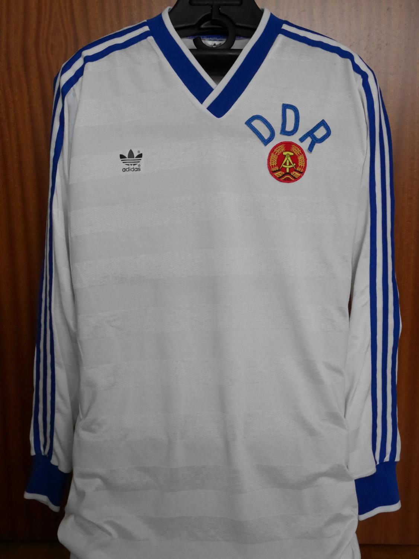a1694bbce East Germany Home maglia di calcio 1987 - 1988.