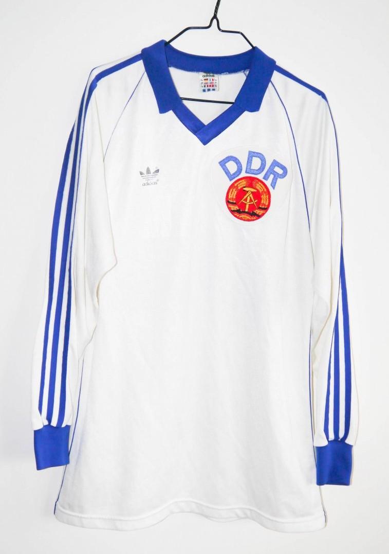 17bcf5c3c72 ... East Germany Home Maillot de foot 1984 - 1986