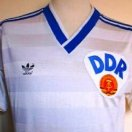 East Germany football shirt 1986 - 1988