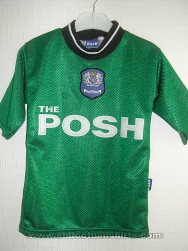 Peterborough United Goalkeeper camisa de futebol 2001 - 2002