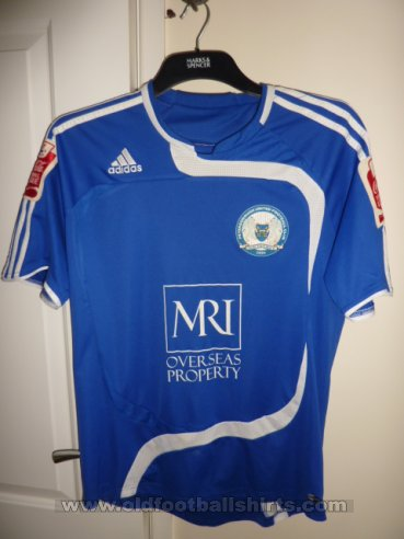 Peterborough United Home חולצת כדורגל 2008 - 2010