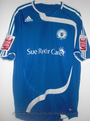 Peterborough United Home חולצת כדורגל 2010