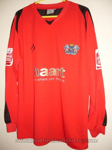 Peterborough United Goalkeeper Camiseta de Fútbol 2007