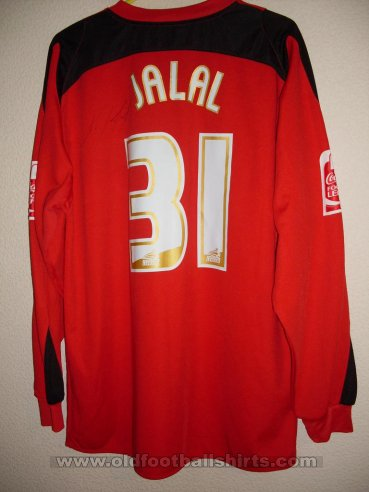 Peterborough United Goalkeeper camisa de futebol 2007