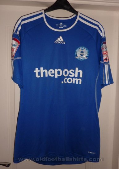 Peterborough United Home voetbalshirt  2010 - 2011