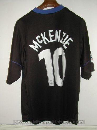 Peterborough United Visitante Camiseta de Fútbol 2003 - 2004