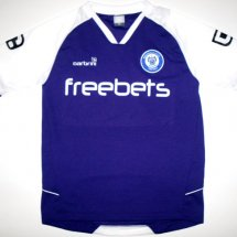 Rochdale Away baju bolasepak 2009 - 2010 sponsored by Freebets