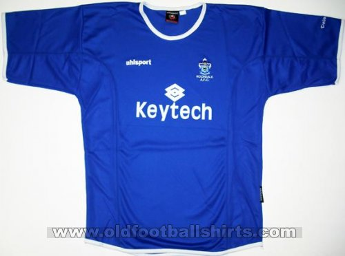 Rochdale Home football shirt 2004 - 2005