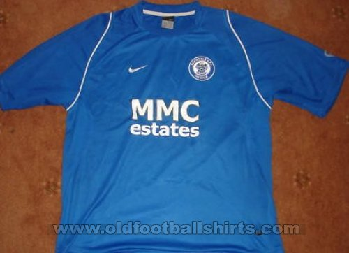 Rochdale Home voetbalshirt  2006 - 2007