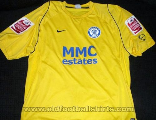 Rochdale Third football shirt 2008 - 2009