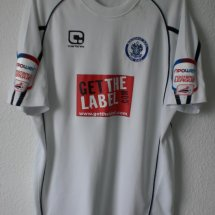 Rochdale Cup Shirt baju bolasepak 2010 - 2011 sponsored by Get athe Label