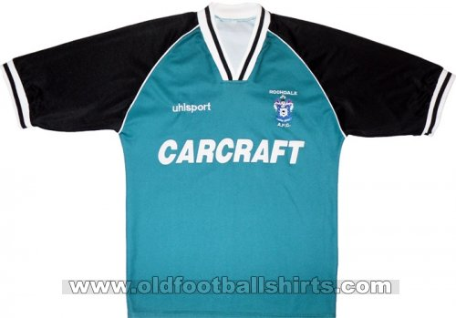 Rochdale Away football shirt 1998 - 2000