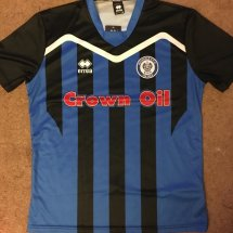Rochdale Special baju bolasepak 2016 - 2017 sponsored by Crown Oil