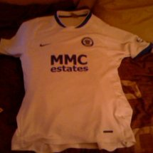 Rochdale Away baju bolasepak 2006 - 2007 sponsored by MMC Estates