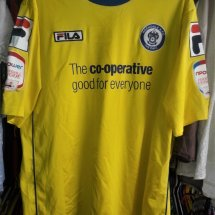 Rochdale Home baju bolasepak 2012 - 2013 sponsored by Co-op