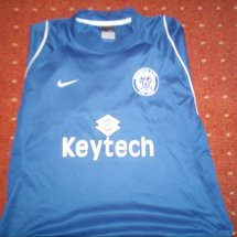 Rochdale Home baju bolasepak 2005 - 2006 sponsored by Keytech