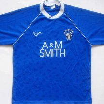 Rochdale Home baju bolasepak 1990 - 1991 sponsored by A & M Smith