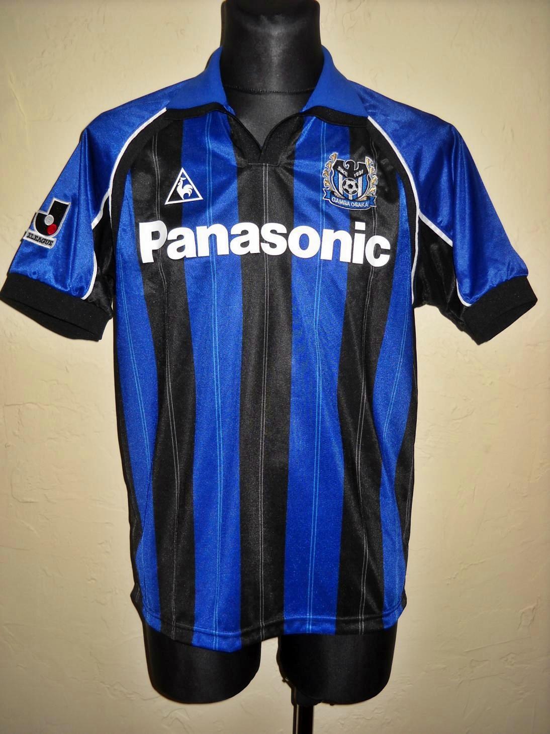 db1f7f34f56 Gamba Osaka Home football shirt 2000 - 2001 ...